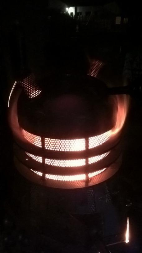 Dalek Woodburner 4