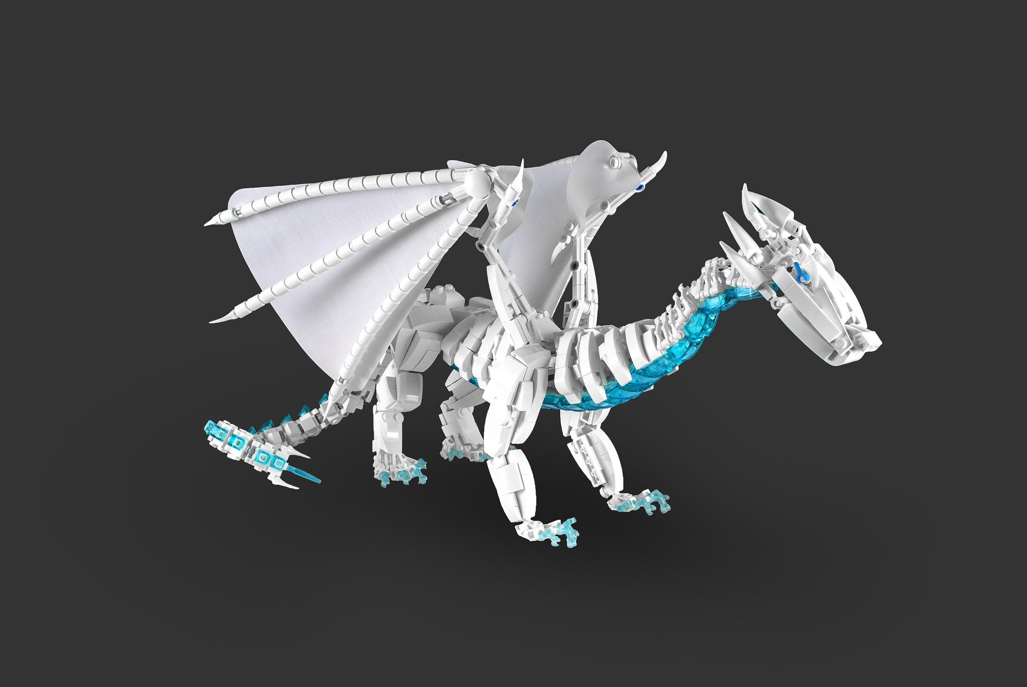 ice dragon lego