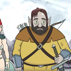 Harmonquest live RPG webseries mixes animation, orcs and jokes