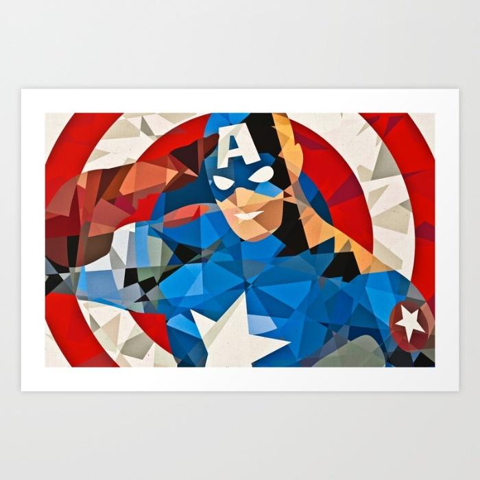 Captain America-geo