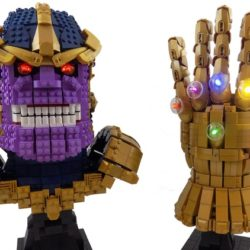Superhero Week: Thanos and Infinity Gauntlet LEGO