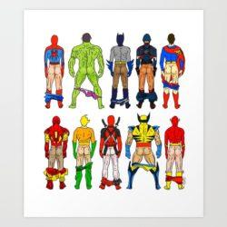 Superhero Week: Superhero butts!