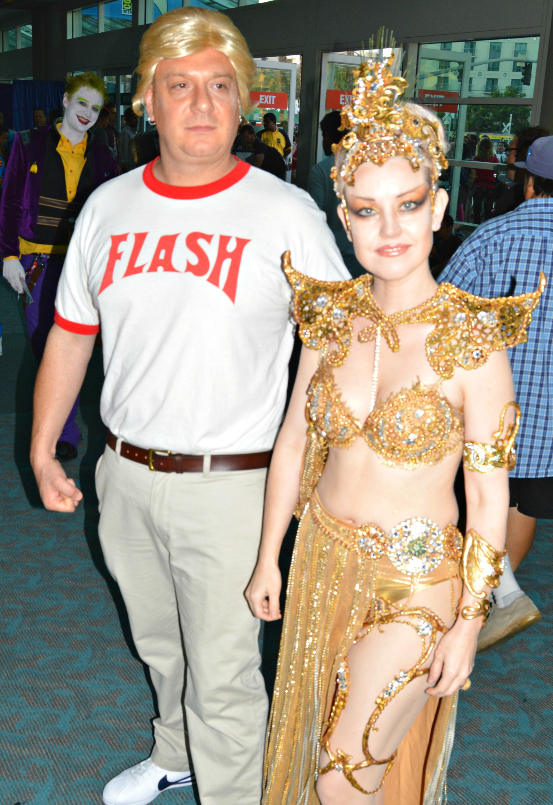 Flash Gordon and Princess Aura