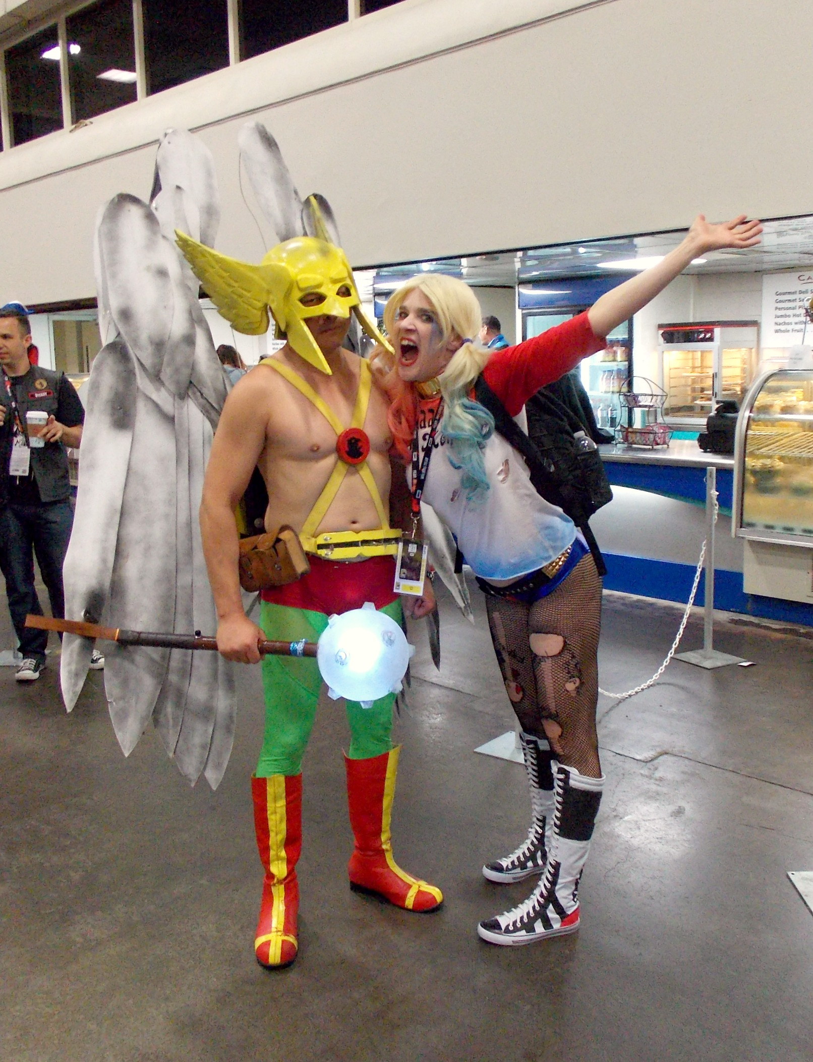 Hawkman and Harley