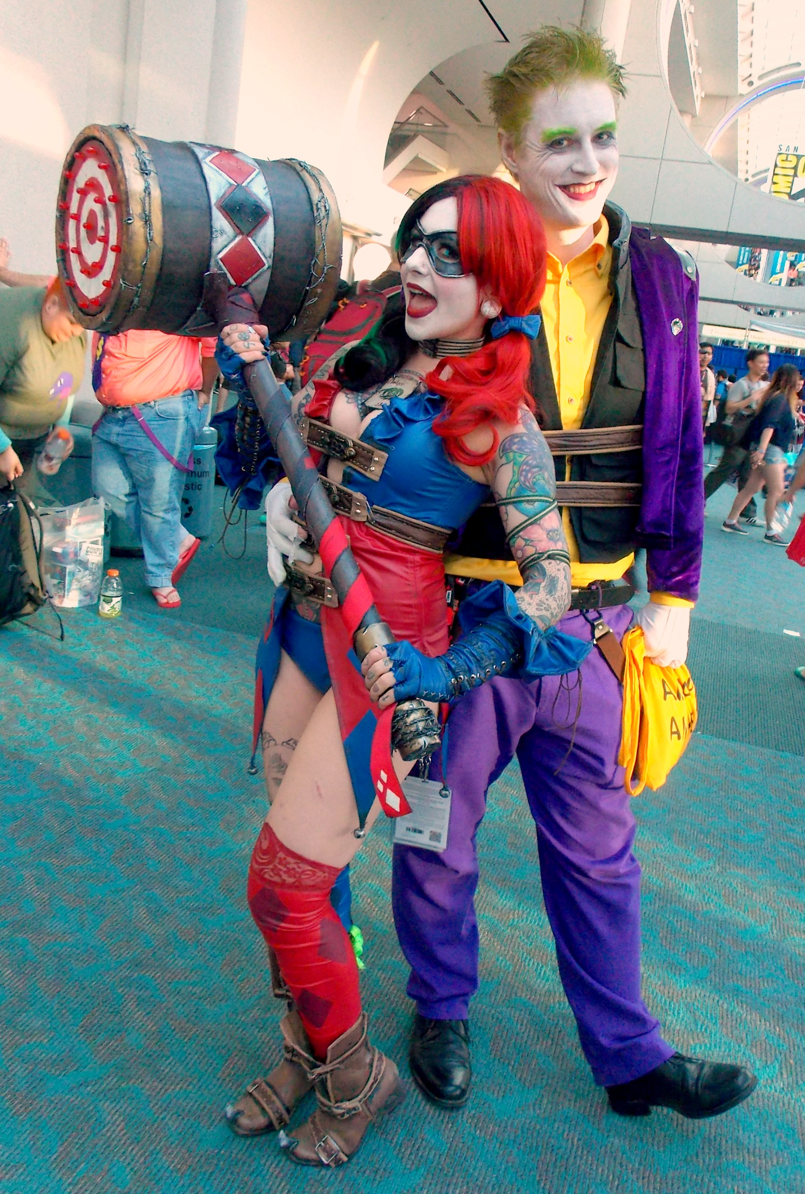 Joker and Harley Quinn (2)