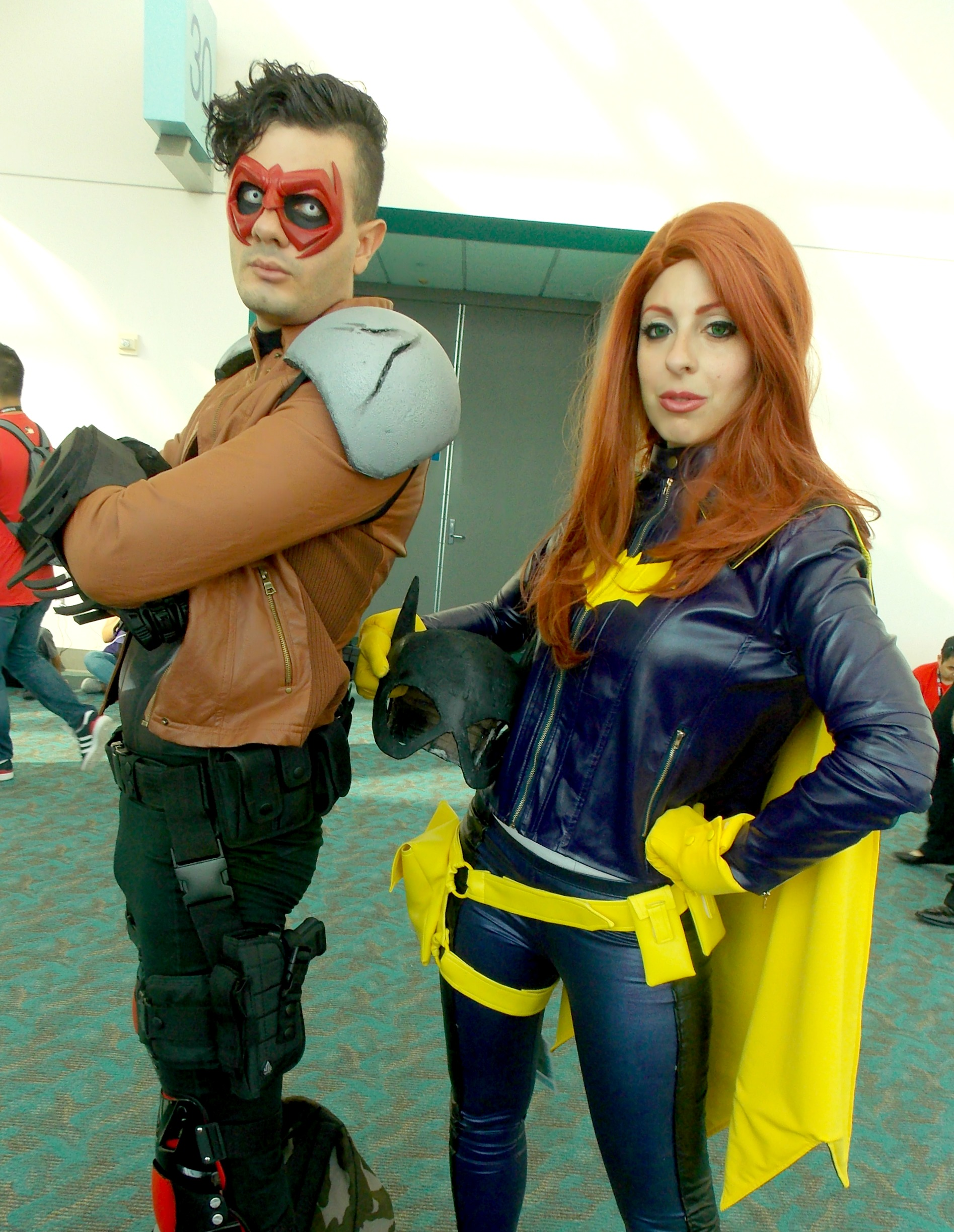 Red Hood and Batgirl