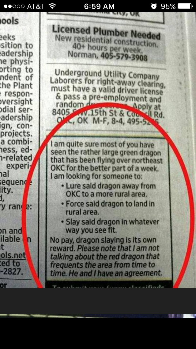 Dragon problems