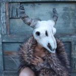 12 Masks of Halloween: #5 Steer Skull Mask