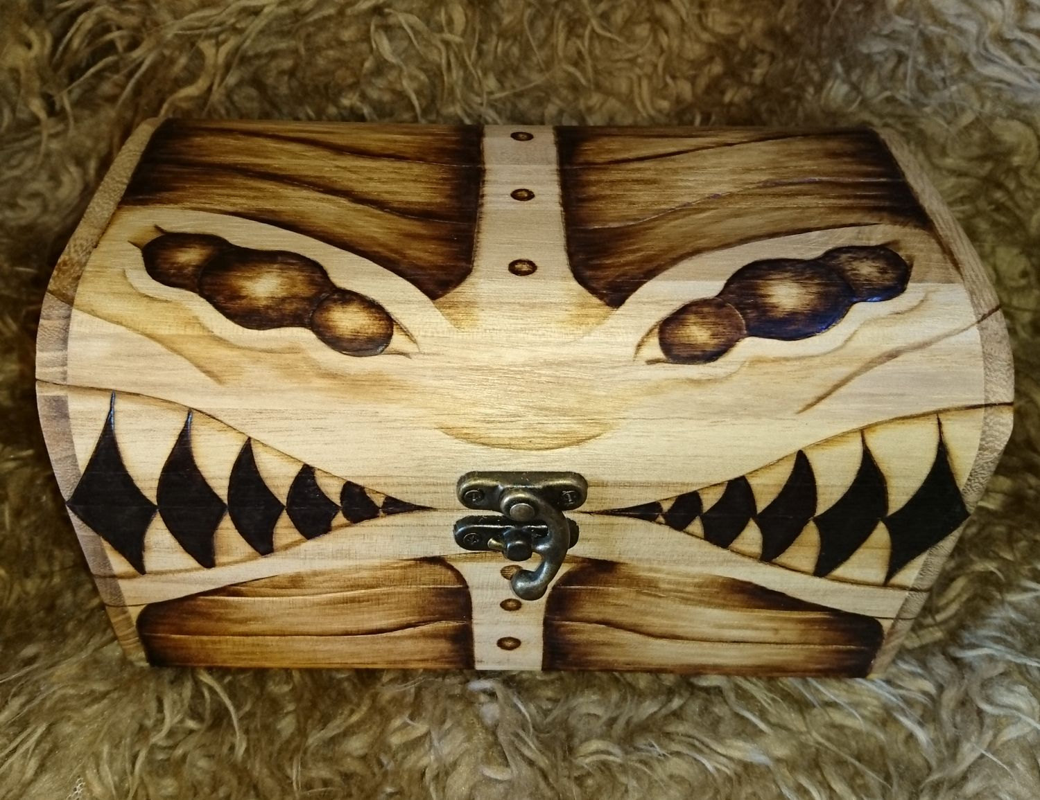 Is It A Mimic Monster Or A Wooden Chest
