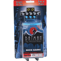 Batman: The Animated Series dice game ships