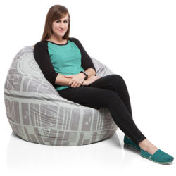 The fully operational strength of your Star Wars fandom – Death Star bean bag