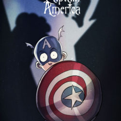 What if Tim Burton helped illustrate superheroes…