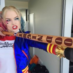 This is not Margot Robbie!