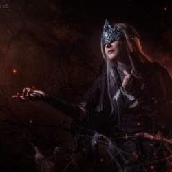 Difficult? This is a Dark Souls Fire Keeper cosplay
