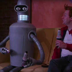 Fans make a Futurama live action fan film