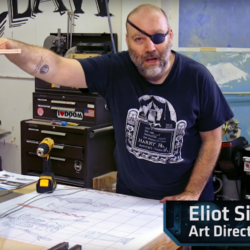 Star Wars set designer builds D&D gaming table