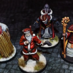 Corrupt next year: War in Christmas Village